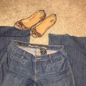 Buffalo wide leg jeans